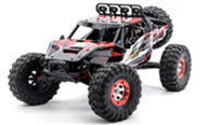 FeiYue FY-07 RC CAR,FY07 FY-07 Bruless rc truck 1/12 1:12 electric rc car,4WD remote control cross-country rock crawler with big wheels-Red FeiYue-Car-All