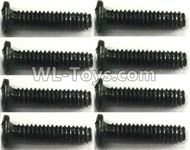 FeiYue FY-11 Spare Parts-56-01 XLF-1001-2X7 Screws(8pcs),FY11 FY-11 RC Racing Car Truck Spare parts Accessories,1:12 4WD High Speed RC Buggy Parts