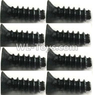 FeiYue FY-11 Spare Parts-56-03 XLF-1006 2.6X8KB Screws(8pcs),FY11 FY-11 RC Racing Car Truck Spare parts Accessories,1:12 4WD High Speed RC Buggy Parts
