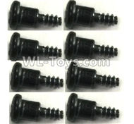 FeiYue FY-11 Spare Parts-56-07 XLF-1010 4X9 Step Screws(8pcs),FY11 FY-11 RC Racing Car Truck Spare parts Accessories,1:12 4WD High Speed RC Buggy Parts
