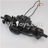 HB P1001 Car Parts-02 Front Car unit(Include the Motor and Steering parts),HB P1001 RC 4WD Rock Crawler Spare parts Accessories,HB 1:10 4WD High Speed Buggy Parts