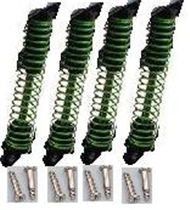 HB P1001 Car Parts-07-06 Shock Absorber(4pcs)-Green,HB P1001 RC 4WD Rock Crawler Spare parts Accessories,HB 1:10 4WD High Speed Buggy Parts