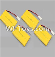 HB P1001 Car Parts-08-03 9.6V 1800mAh Battery(4pcs),HB P1001 RC 4WD Rock Crawler Spare parts Accessories,HB 1:10 4WD High Speed Buggy Parts