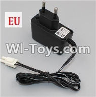 HB P1001 Car Parts-09-02 Charger(With EU Version Plug),HB P1001 RC 4WD Rock Crawler Spare parts Accessories,HB 1:10 4WD High Speed Buggy Parts
