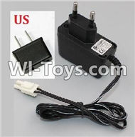 HB P1001 Car Parts-09-02 Charger(With US Version Plug),HB P1001 RC 4WD Rock Crawler Spare parts Accessories,HB 1:10 4WD High Speed Buggy Parts