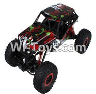 HB P1001 Car Parts-13 BNF-Red(Only the Whole Car,No Battery,No charger,No transmitter),HB P1001 RC 4WD Rock Crawler Spare parts Accessories,HB 1:10 4WD High Speed Buggy Parts