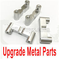 HG P407 Upgrade Metal parts(4pcs),HG P407 RC Truck Spare parts Accessories,HG P407 1:10 RC Car Parts