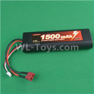 HG P407 B7415 7.4V 1500mAH Battery(1pcs),HG P407 RC Truck Spare parts Accessories,HG P407 1:10 RC Car Parts