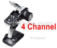 HG P408 Parts-4 Channel Transmitter,Remote control-HG-TX2,HG P408 Kfor Parts,HG P408 Humvee RTR Parts
