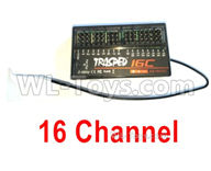 HG P408 Parts-16 Channel Receiver(Can only be used for the 16 channel Transmitter)-YK002-1,HG P408 Kfor Parts,HG P408 Humvee RTR Parts