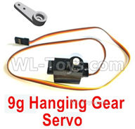 HG P408 Parts-9g Hanging Gear Servo-HM-DZ017,HG P408 Kfor Parts,HG P408 Humvee RTR Parts