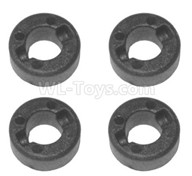 HG P601 Parts-Wheel Axle fixed Sleeve Parts(4pcs) Parts-P10024,HG P601 RC Truck Parts 6x6 1/10 Parts