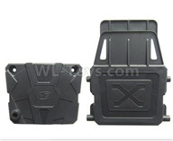 HG P601 Parts-Receiving box housing Shell Parts-.P10046+048,HG P601 RC Truck Parts 6x6 1/10 Parts