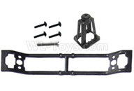 HG P601 Parts-Spare wheel mount large + fixed frame Parts-P10096+110,HG P601 RC Truck Parts 6x6 1/10 Parts