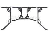 HG P601 Parts-Universal car shell bracket Parts-P10107+108+109,HG P601 RC Truck Parts 6x6 1/10 Parts