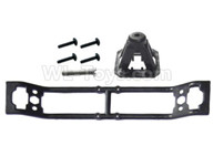 HG P601 Parts-Spare wheel mount small + mount Parts-P10110+115,HG P601 RC Truck Parts 6x6 1/10 Parts