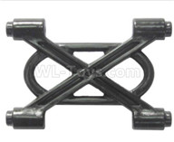 HG P601 Parts-Bridge expansion reinforcement board Parts-P10134,HG P601 RC Truck Parts 6x6 1/10 Parts