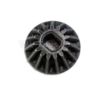 HG P601 Parts-Small bevel gear (15T) Parts-H01010 Parts-(Be used for the central Variable speed Device),HG P601 RC Truck Parts 6x6 1/10 Parts