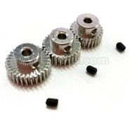 HG P601 Parts-Motor gear set(HG Parts-26T.28T.30T),HG P601 RC Truck Parts 6x6 1/10 Parts