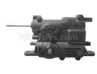 HG P601 Parts-Central Variable speed Device,Central transmission assembly Parts-HG Parts-BX01,HG P601 RC Truck Parts 6x6 1/10 Parts