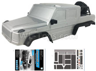 HG P601 Parts-Body-Whole Car shell assembly 03(Include the body car shell,car shell frame and Sticker) Parts-HG Parts-CKP601,HG P601 Parts-6x6 1/10 Parts