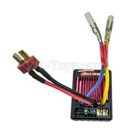 HG P601 Parts-2 Parts-in Parts-1 ESC, 40A ESC and receiver 2 Parts-in Parts-1 Parts-HG Parts-RX1,HG P601 RC Truck Parts 6x6 1/10 Parts