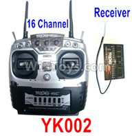 HG P602 Transmitter + Receiver Parts-YK002 16 channels Transmitter + Receiver,HG P602 1/12 Parts