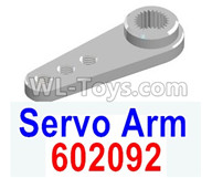 HG P602 Parts-Servo Arm,Servo Swing Arm-602092,HG P602 1/12 Parts