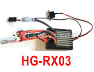 HG P602 Parts-ESC-HG-RX03,High with independent ESC,HG P602 1/12 Parts