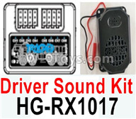 HG P602 Parts-Driver Sound Kit-HG-RX1017,HG P602 1/12 Parts