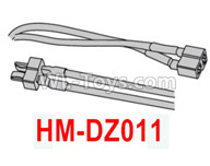 HG P602 Parts-Double-head T-shaped plug (male and female plug)-HM-DZ011,HG P602 1/12 Parts
