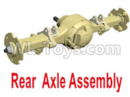 HG P801 P802 Parts-8ASS-P0019 Rear Axle Assembly-Blue or Yellow color,HG P801 P802 RC Truck Spare parts Accessories,HG P801 P802 1:12 RC Car Parts,U.S. Military Truck Parts