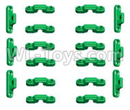 HG P801 P802 Parts-HGKC-25 Truck body buckle-Green Color-Can only be used for HG-P801,HG P801 P802 RC Truck Spare parts Accessories,HG P801 P802 1:12 RC Car Parts,U.S. Military Truck Parts
