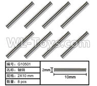 HG P801 P802 Parts-G10501 Hexagon TB screw(8pcs)-2X10mm,HG P801 P802 RC Truck Spare parts Accessories,HG P801 P802 1:12 RC Car Parts,U.S. Military Truck Parts
