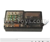 HG P801 P802 Parts-HG-RX2 2.4G Four-Channel Receiver Board.Circuit board,HG P801 P802 RC Truck Spare parts Accessories,HG P801 P802 1:12 RC Car Parts,U.S. Military Truck Parts