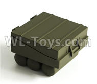 HG P801 P802 Parts-8ASS-P0013 Air brake box(Green or Yellow),HG P801 P802 RC Truck Spare parts Accessories,HG P801 P802 1:12 RC Car Parts,U.S. Military Truck Parts
