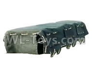 HG P801 P802 Parts-WE8011 Car cloak set(Include the Car cloak and Support frame),HG P801 P802 RC Truck Spare parts Accessories,HG P801 P802 1:12 RC Car Parts,U.S. Military Truck Parts