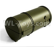 HG P801 P802 Parts-8012-P0014 Oil drum(Green or Yellow),HG P801 P802 RC Truck Spare parts Accessories,HG P801 P802 1:12 RC Car Parts,U.S. Military Truck Parts