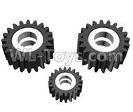 HG P801 P802 Parts-JK-25-115 Reduction planetary gear,HG P801 P802 RC Truck Spare parts Accessories,HG P801 P802 1:12 RC Car Parts,U.S. Military Truck Parts
