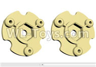 HG P801 P802 Parts-JK009-29 Wheel Hub positioning seat-2pcs-(Green Or Yellow),HG P801 P802 RC Truck Spare parts Accessories,HG P801 P802 1:12 RC Car Parts,U.S. Military Truck Parts