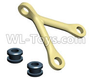 HG P801 P802 Parts-JK015-56 Front and rear bridge fixings(Green Or Yellow),HG P801 P802 RC Truck Spare parts Accessories,HG P801 P802 1:12 RC Car Parts,U.S. Military Truck Parts