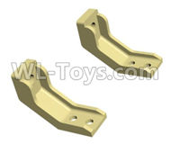 HG P801 P802 Parts-JK006-20 Fixed Seat for the Truck head-2pcs-(Green Or Yellow),HG P801 P802 RC Truck Spare parts Accessories,HG P801 P802 1:12 RC Car Parts,U.S. Military Truck Parts