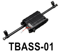 HG P806 Parts Tail plate tooth box assembly. TBASS-01,HG P806 TRASPED Semi Trailer Parts,HG P806 1/12 Truck Parts