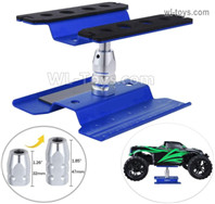 HG P806 TRASPED RC model car repair platform maintenance platform, oil truck starting platform shunting platform, For 1/10 1/8 rc car.