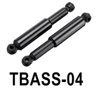 HG P806 Parts Shock absorber assembly. Total 2pcs. TBASS-04,HG P806 TRASPED Semi Trailer Parts,HG P806 1/12 Truck Parts