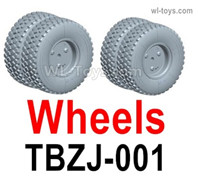 HG P806 Parts Wheel assembly. Total 2pcs. TBZJ-001. Two Colors you can choose. Yellow or Green.HG P806 TRASPED Semi Trailer Parts,HG P806 1/12 Truck Parts