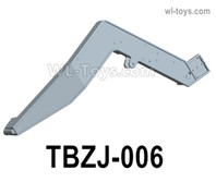 HG P806 Parts Left crank assembly. TBZJ-006. Two Colors you can choose. Yellow or Green.HG P806 TRASPED Semi Trailer Parts,HG P806 1/12 Truck Parts