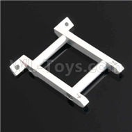 HSP 94188 spare parts-188035 108035(08030)-01 Upgrade Aluminum Front Brace-Silver,Upgrade HSP 94188 RC Car Truck Parts,Upgrade HSP 1:10 RC Truck Spare parts Accessories,HSP 94188 Upgrade Parts
