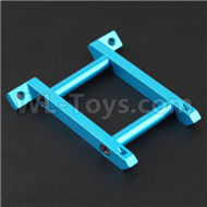 HSP 94188 spare parts-188035 108035(08030)-03 Upgrade Aluminum Front Brace-Blue,Upgrade HSP 94188 RC Car Truck Parts,Upgrade HSP 1:10 RC Truck Spare parts Accessories,HSP 94188 Upgrade Parts