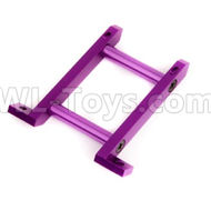 HSP 94188 spare parts-188035 108035(08030)-04 Upgrade Aluminum Front Brace-Purple,Upgrade HSP 94188 RC Car Truck Parts,Upgrade HSP 1:10 RC Truck Spare parts Accessories,HSP 94188 Upgrade Parts